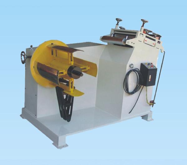 二合一自动矫正机,送料机